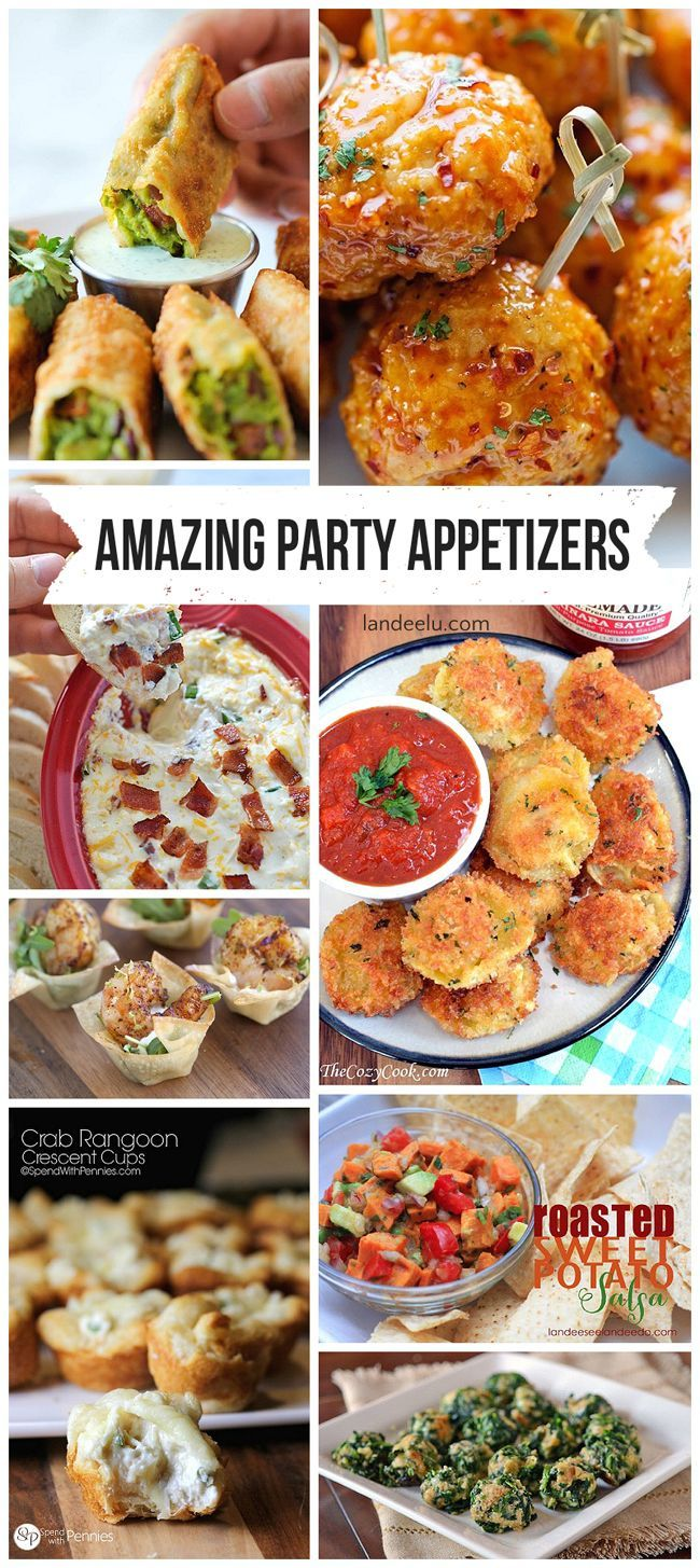 Most amazing party appetizer recipes in the entire world party amazing party appetizers perfect for christmas and new years eve parties forumfinder Image collections
