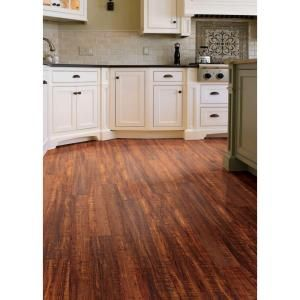 Hampton Bay High Gloss Perry Hickory 8 Mm Thick X 47 3 4 In