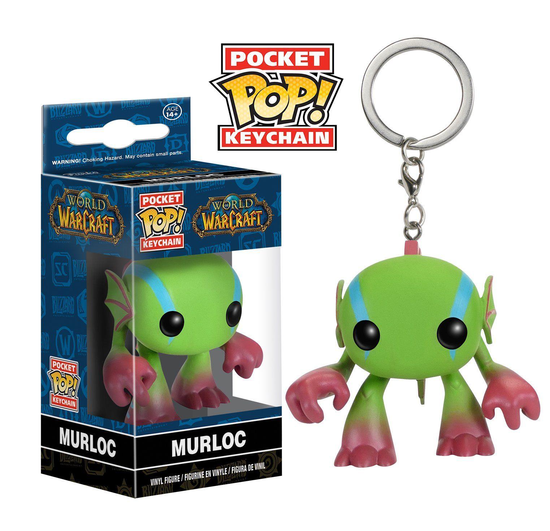 Funko POP Keychain World of Warcraft Murloc Action Figure