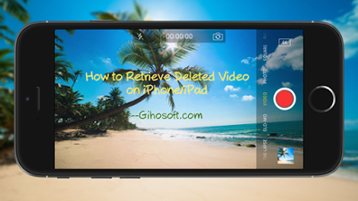 How To Retrieve Deleted Videos On Iphone Or Ipad Iphone Ipad
