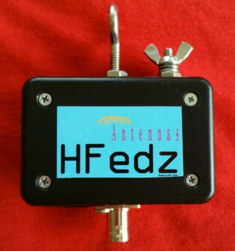 Hfedz Qrp End Fed 10m 160m Hf Antenna 75w With Bnc Conector Ham Radio Antenna With Images Ham Radio Antenna Radio Antenna Ham Radio