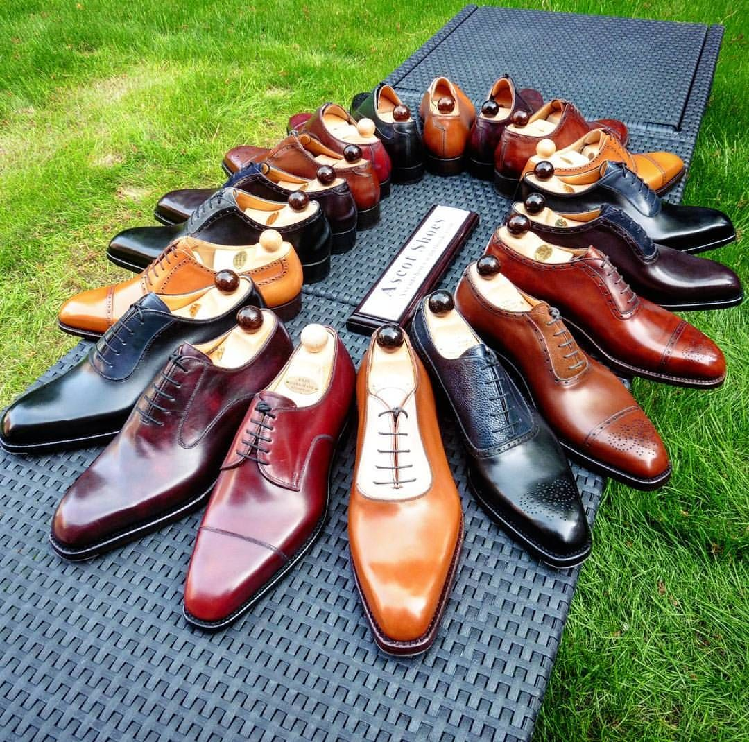 Ascot Shoes — Life's most persistent question, what are we doing...