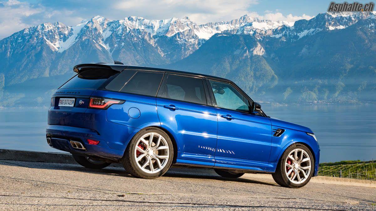 Essai Range Rover Sport SVR délicieuse décadence Range