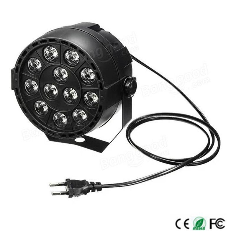 Dj Disco Projector LED Platte Draagbare Mini AC 90-240 V 12 W podium ...