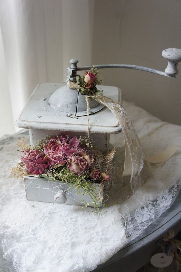 "Photo of Vintage coffee grinders – reserved f. Sonja coffee grinder ""seduction …."" – a …"