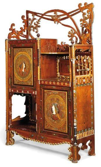 Cabinet 1910 Christie S Meuble De Style Mobilier De Salon Meubles Art Nouveau