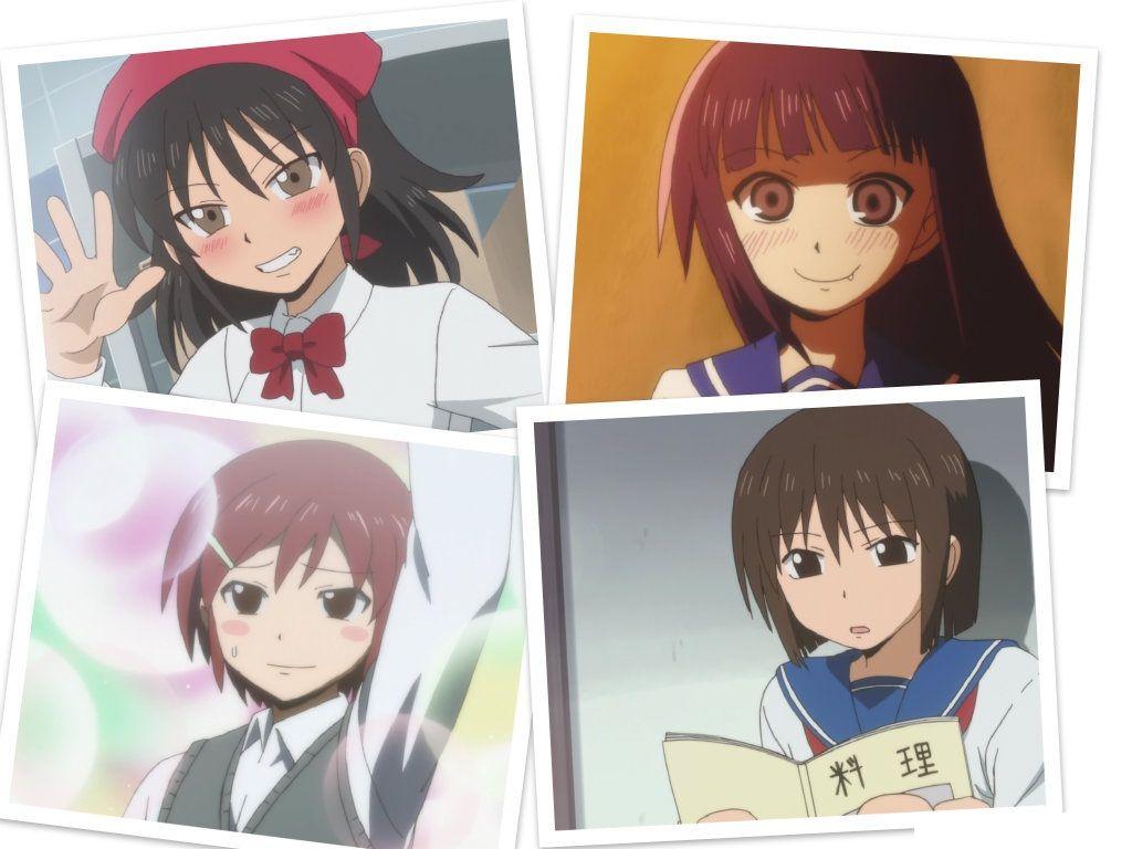 Danshi Koukousei no Nichijou/20   Nichijou, Anime, School boy