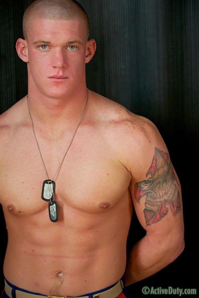 Sexy marine men