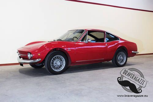Wonderful Fiat 850 Coupe Moretti Sportiva S2 For Sale 1968