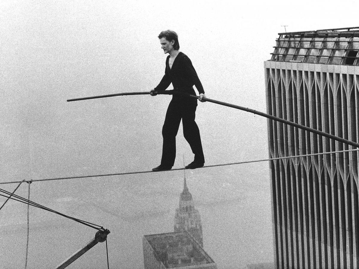 Walking 'The Walk': The True Story Behind the Movie – Philippe Petit Photo