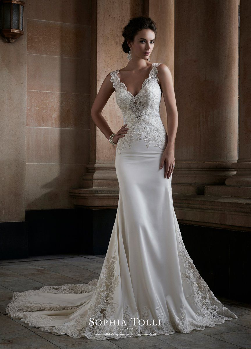 Sophia Tolli Y21749 Adhara Wedding Dresses Bridal Dresses Lace