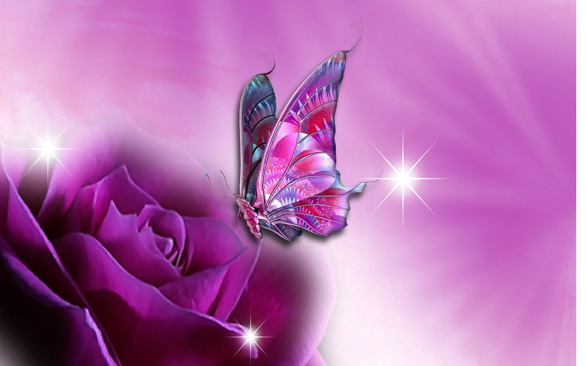 most beautiful flowers wallpapers butterflies - photo #28