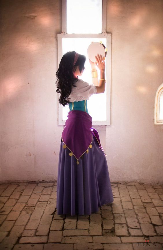 Esmerelda by httprameikoiantart fantasias pinterest i did new photo with esmeralda costume and i really happy with the result photo by hellcat especially thank kli kli for help with wig dance of light solutioingenieria Choice Image