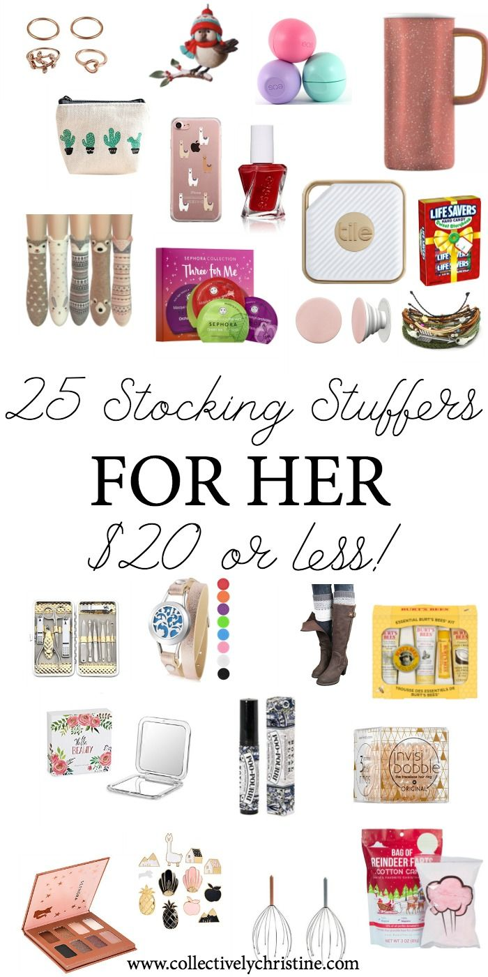 Best Stocking Stuffers For Her Cute Stocking Stuffer Ideas Under 20 Stocking Stuffers For Her Best Stocking Stuffers Stocking Stuffers For Women