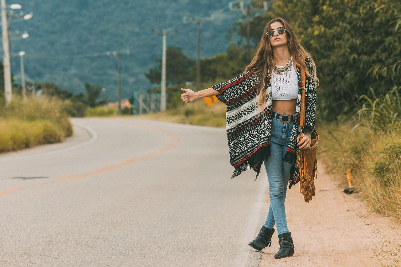 Bohemian style shoulder leather bag #bohemian #leather #bohoinspiration www.mahilacouro.com.br