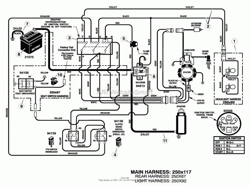 Wiring Diagram Mtd Lawn Tractor Wiring Diagram And By Mtd Lawn Mower Electrical Diagram Wiring Forums Tractor Yamaha Ybr 125 Ingenieria Mecanica