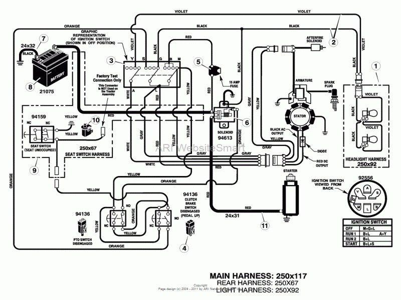 pin on diagrama eléctrico de tractores