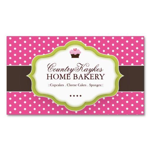 Whimsical bakery business cards bakery business cards bakery whimsical bakery business cards reheart Choice Image