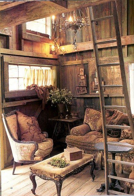 Karaktervolle meubelstukke.