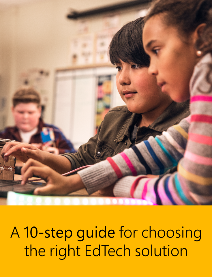 Want To Find The Right Edtech Solution For Your Schools But Don T Know Where To Start This Guide Will Help You Choose Educational Technology Education Edtech