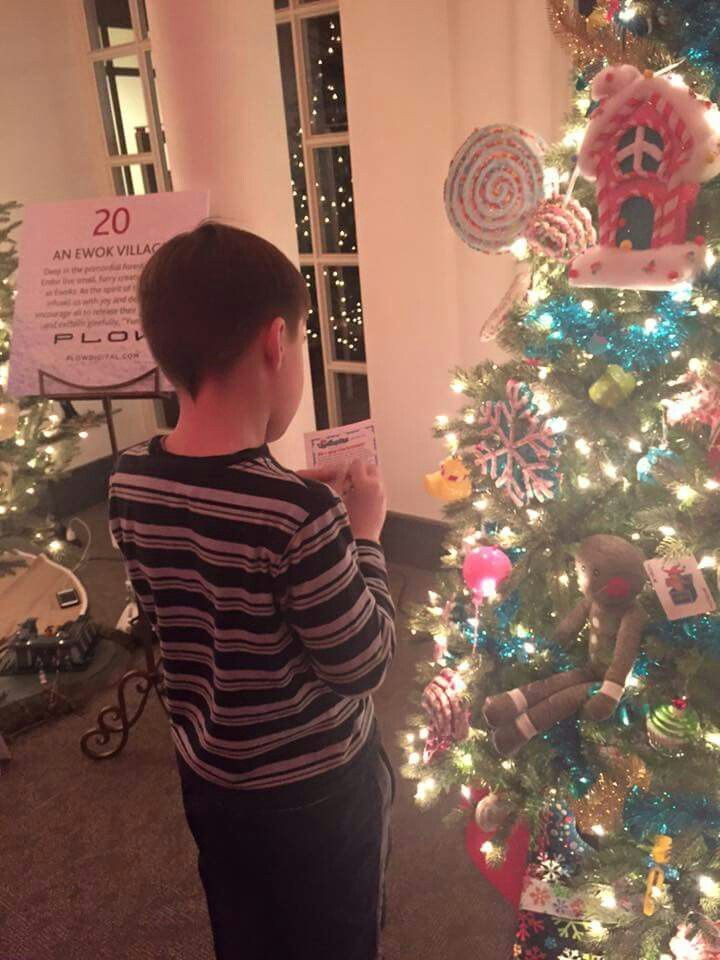 Indiana Historical Society's  Festival of  Trees is open now through New Years, check their website for all the details.