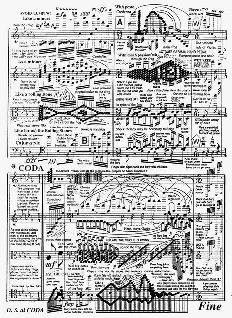 Impossible sheet music Sheet music, Music jokes, Music humor