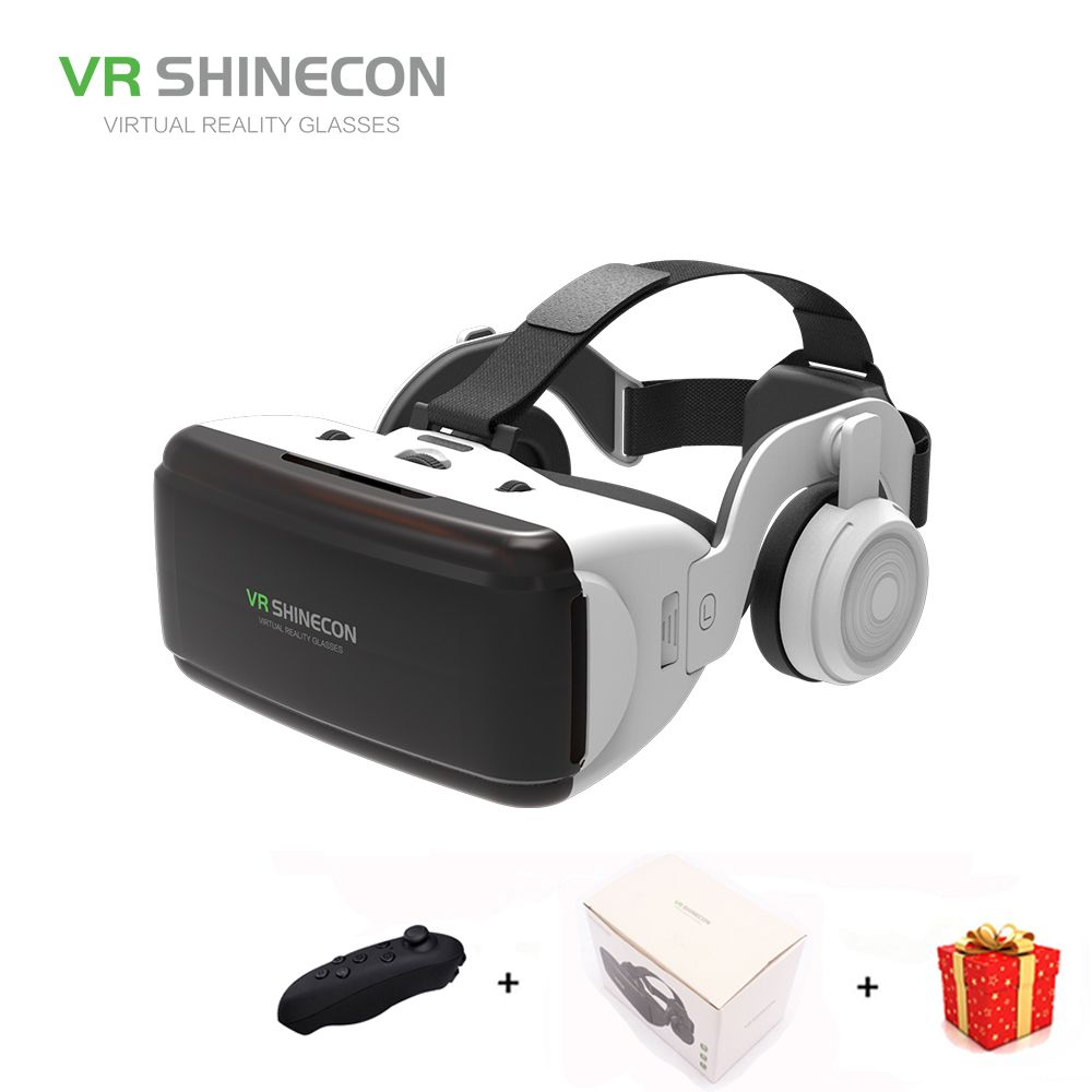 Casque 3d Glasses Vr Shinecon Headset Virtual Reality Glasses