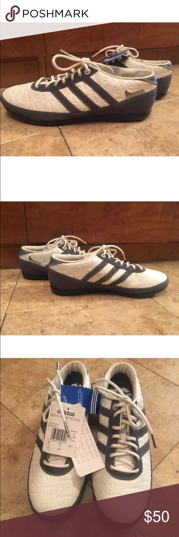 c16a9f1dfe8 New men Adidas Vespa sprint veloce size 9 Sold out everywhere really cool  adidas Vespa sprint