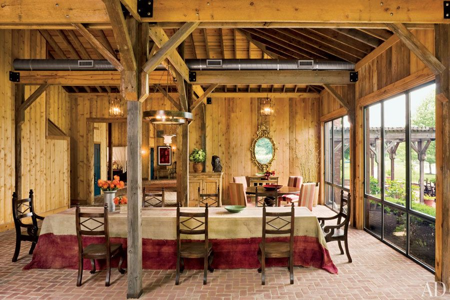 Rustic Barn Inspired Homes Photos Architectural Digest