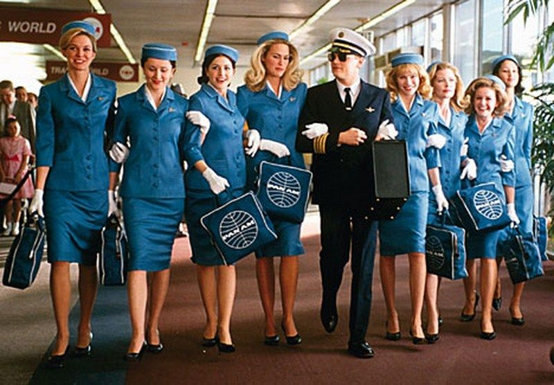Catch Me If You Can Movie Scene American Airlines Movies