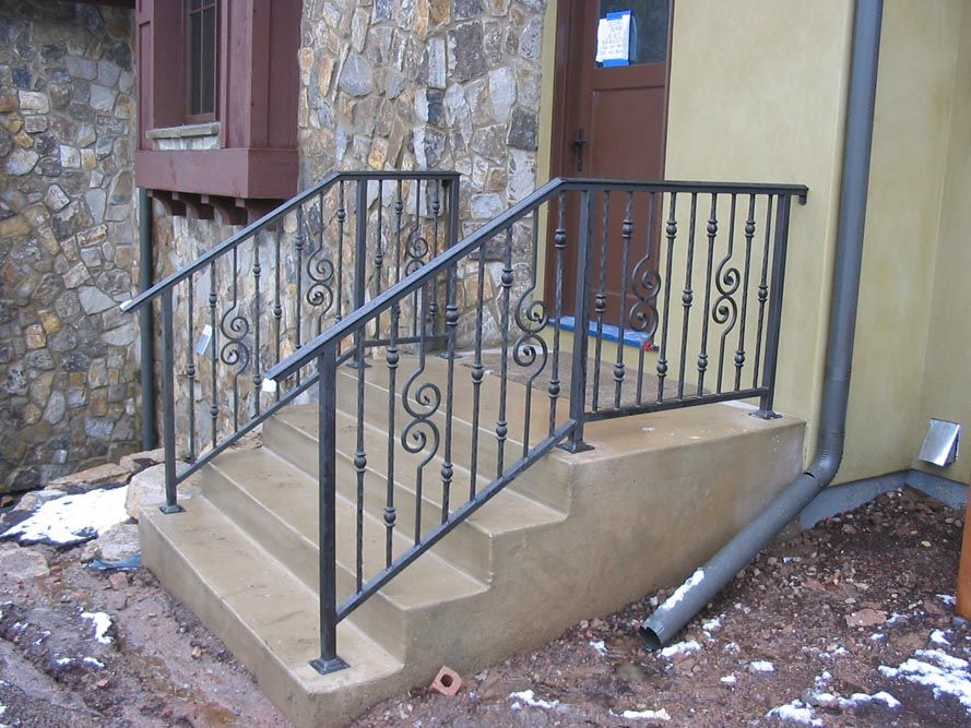 Outdoor Stair Railing   Bing Images