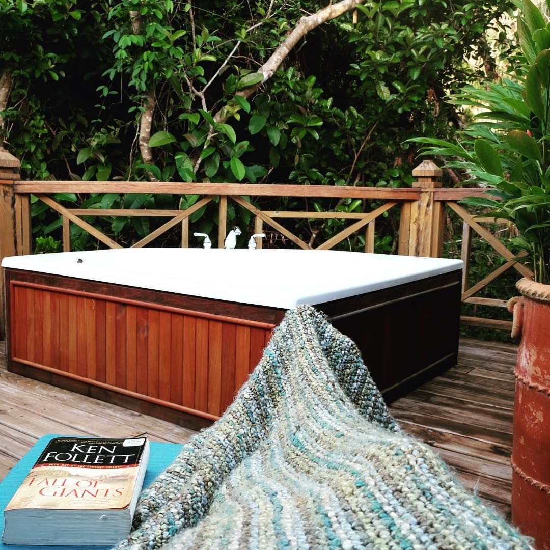 Vacation is always a great time to catch up on your reading list. A private treehouse porch in Belize is always a great place to do that reading on vacation. See for yourself at Hamanasi.