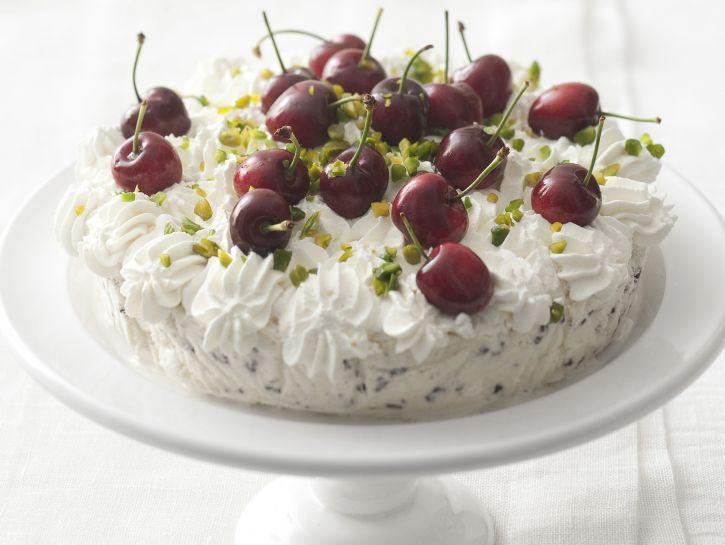 Torta gelato con meringhette   Ricetta   Idee alimentari ...