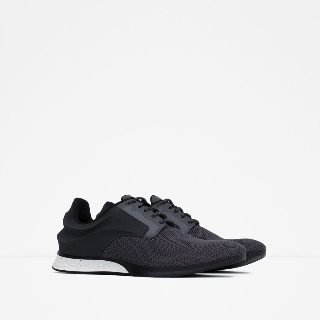Image 2 Of SNEAKERS WITH CURVE DETAIL From Zara