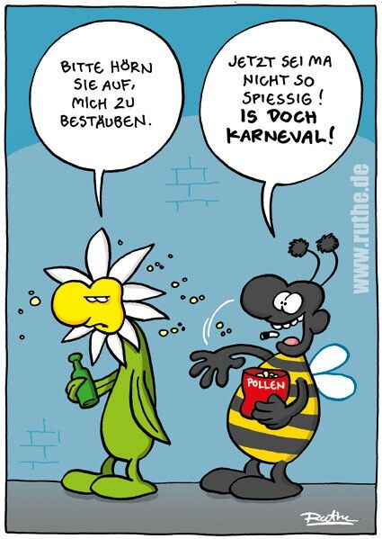 Cartoon Ruthe Ruthe De Funny Rosenmontag Fasching Stimmungs