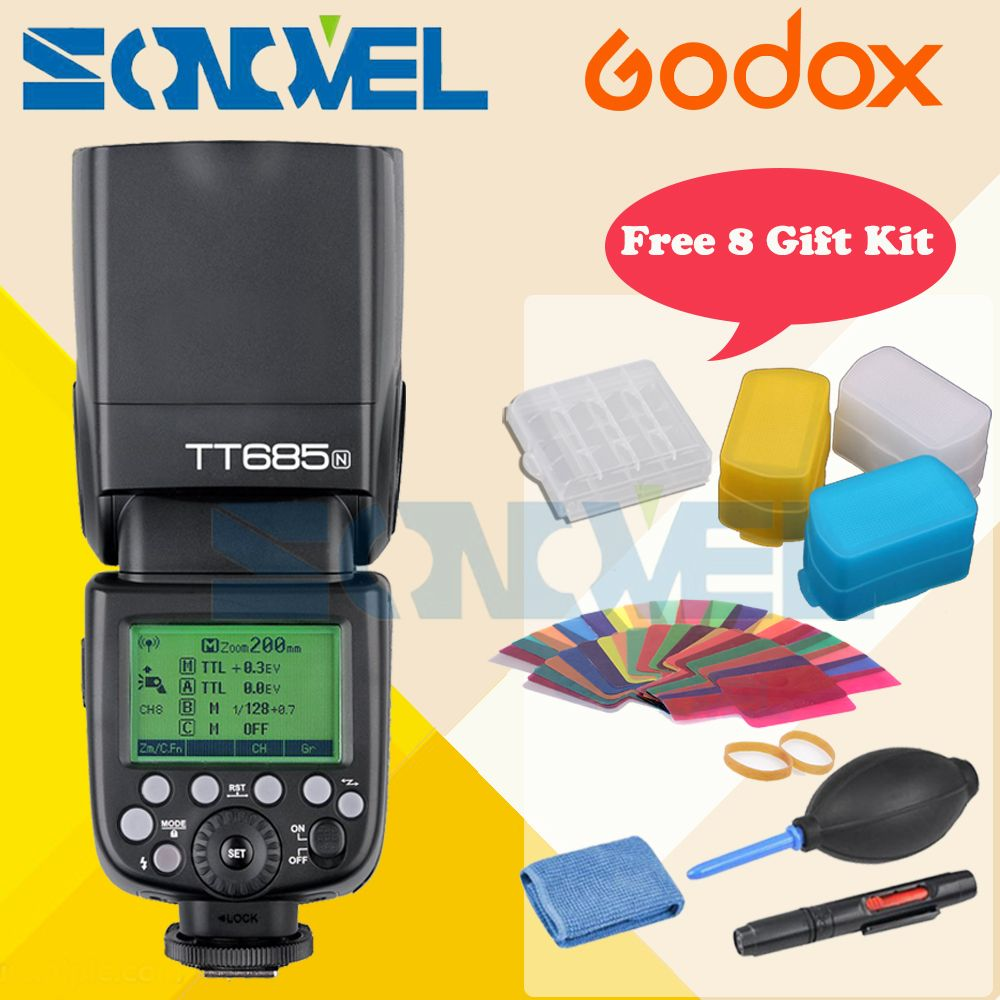 Click To Buy Godox Tt685n 24g Hss 1 8000s I Ttl Gn60 Wireless Yongnuo Yn 565ex Ii Lcd For Canon Cheap Flash Quality Speedlite Directly From China Suppliers Light 230 Full Power Auto Manual Zooming