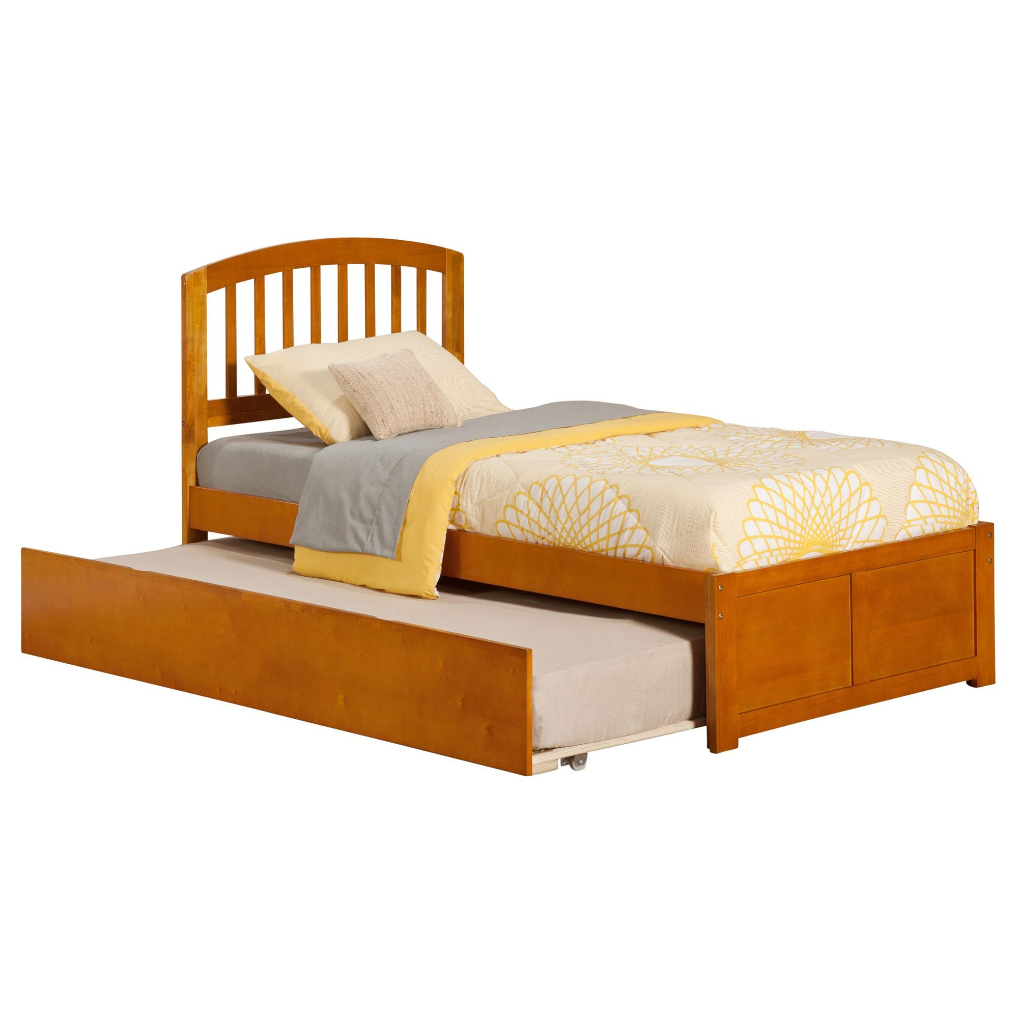 Richmond Twin Platform Bed with Flat Panel Foot Board and