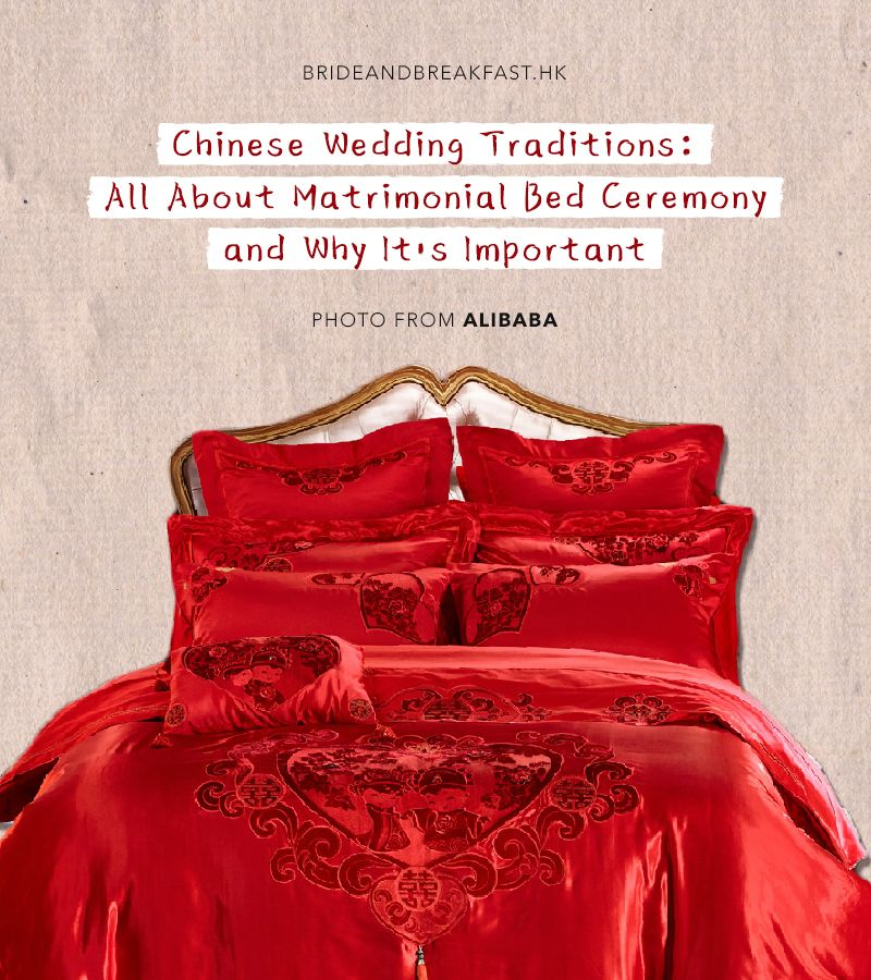 Chinese Wedding Traditions All About Matrimonial Bed Ceremony And