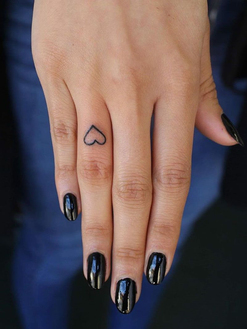 50 Small and Cute Finger Tattoo Ideas for Women Soflyme