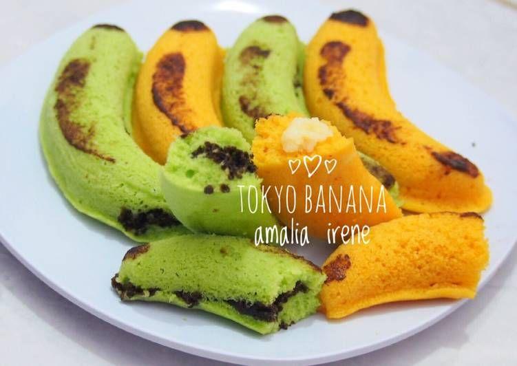 Resep Tokyo Banana Kw Oleh Dapur Amalia Irene Resep Resep Makanan Penutup Mini Pisang