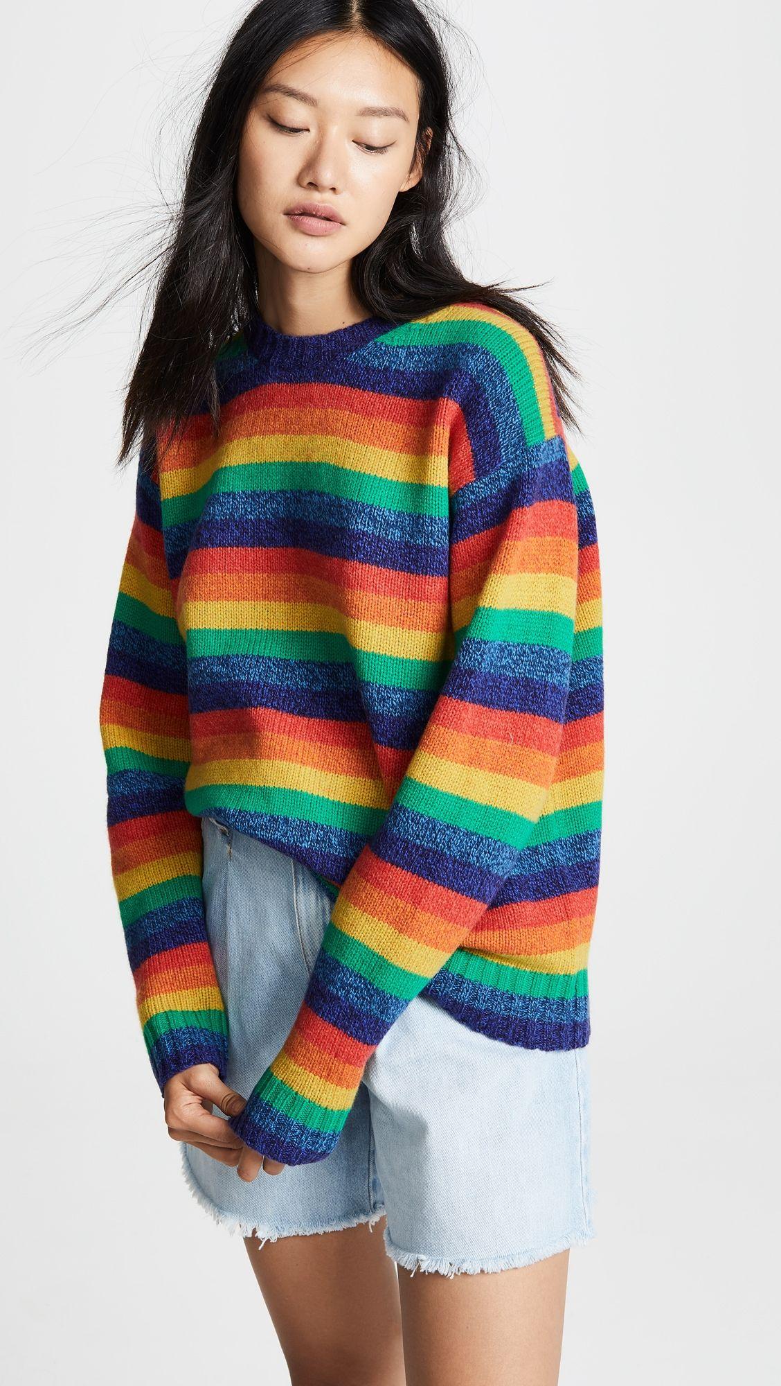 0cbfb3f4ffdd1 Samara Rainbow Sweater in 2019 | Products | Rainbow sweater ...