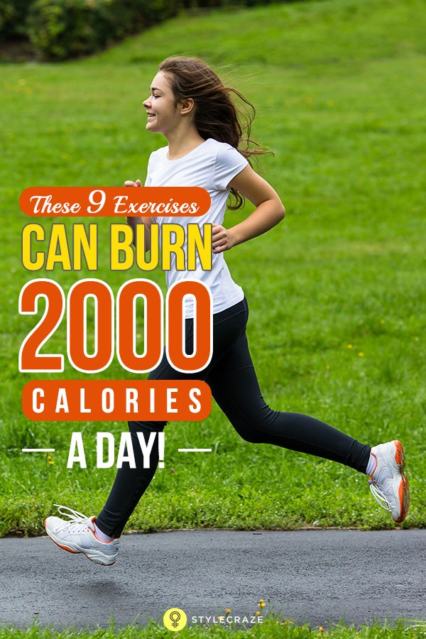 Can Exercising Help You Burn 2000 Calories A Day ...