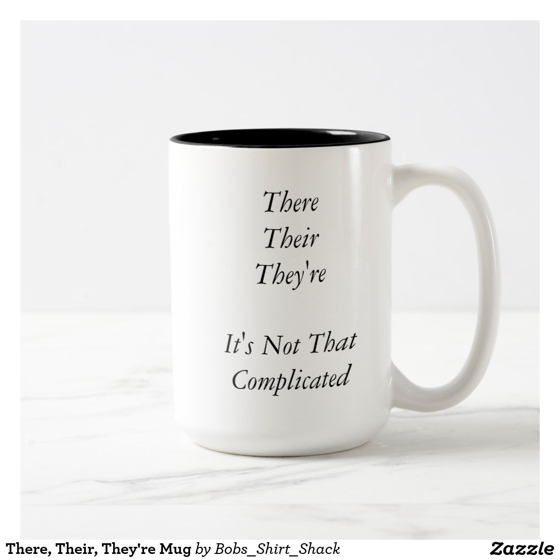 There Their They Re Mug