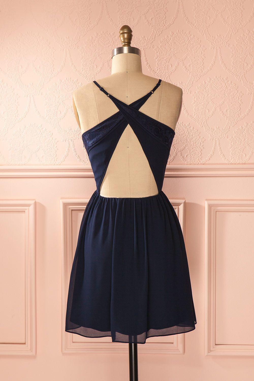 15+ Crossed back dress ideas