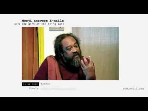 Mooji ♥ Answers ◦ The Gift of Being Lost - YouTube