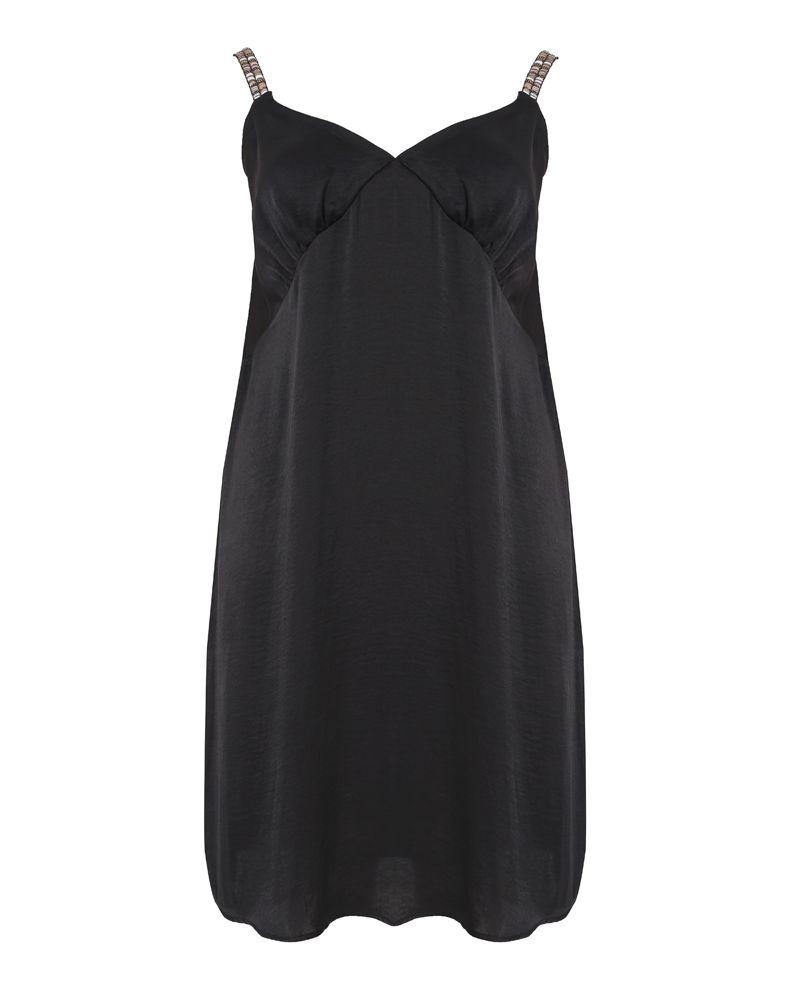 e93ea45aa84 Φόρεμα με διακόσμηση στις τιράντες — mat. XXL sizes — Γυναικεία ...