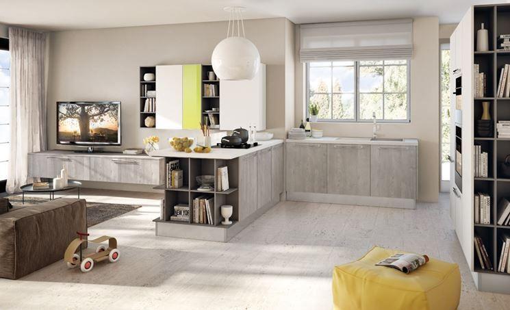 Emejing Arredamento Soggiorno Con Cucina A Vista Images - Skilifts ...