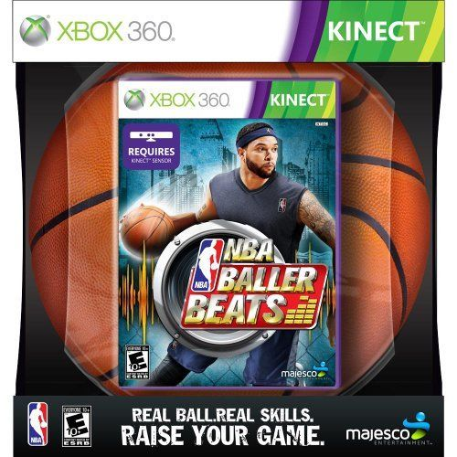 Nba Baller Beats Xbox 360 Kinect Basketball Game 01772 From