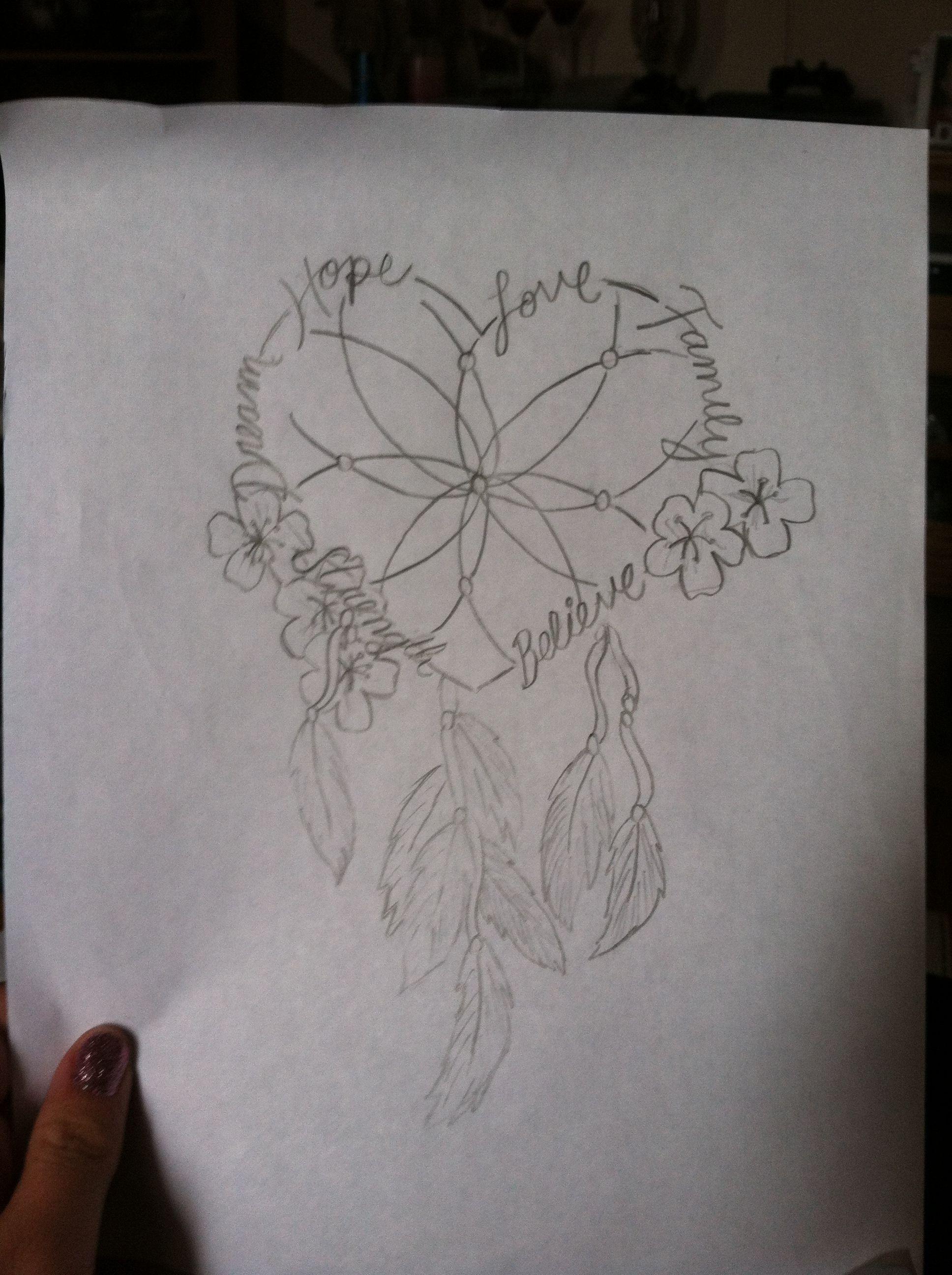Heart Dreamcatcher Cherryblossom Tatoo Tatuagem Filtro Dos