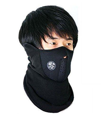 Neoprene Half Face Bike Riding Mask (Black): Amazon.in: Sports, Fitness &…